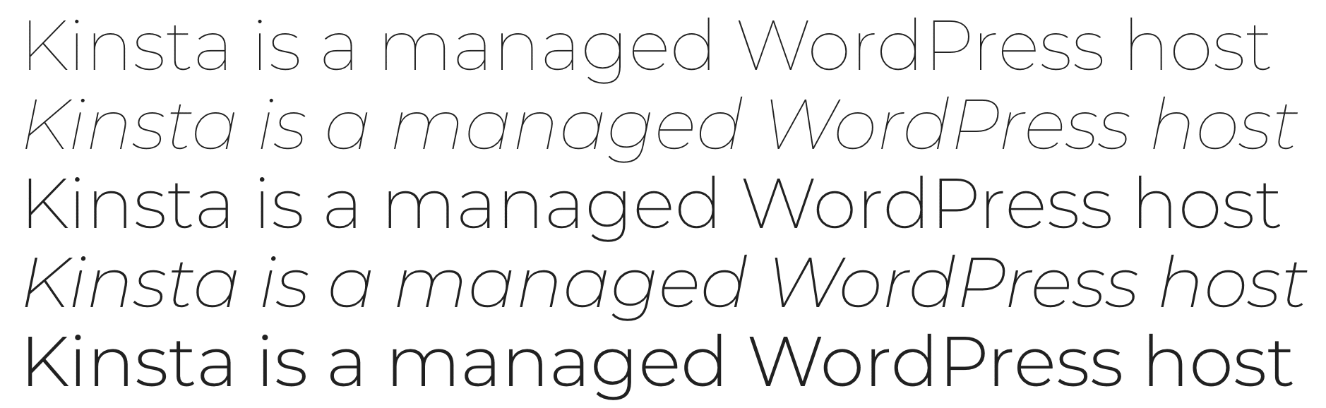 Montserrat 谷歌字体